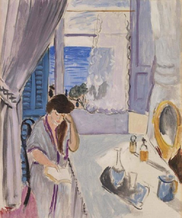 Henri Matisse (French, 1869-1954): Interior, Nice, 1919 (Oil on canvas, The Barnes Foundation)