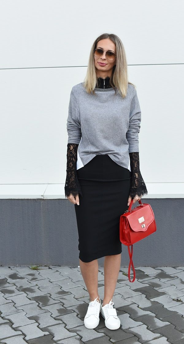 """#red #bag #handmade #leather #style #streetstyle #blog #white """"black #skirt #acneestudios"""
