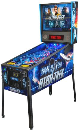 Star Trek Pro / Professional Pinball Machine  | From Stern Pinball |   Get more information about this game at: http://www.bmigaming.com/games-pinball-new.htm