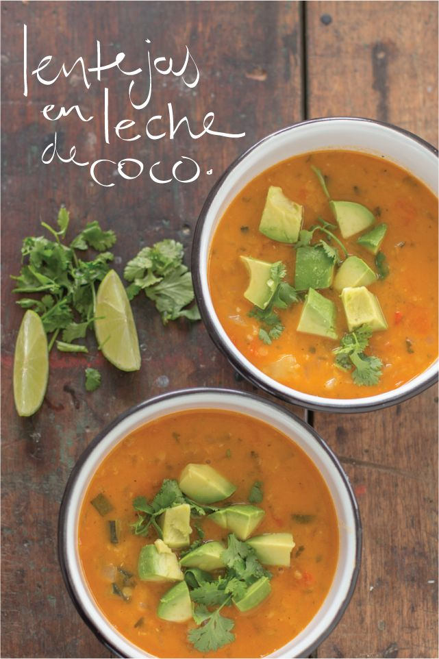 Juliana con Sal  | Blog de Cocina | Recetas Sanas | Cocina Ecológica: Lentejas en leche de coco