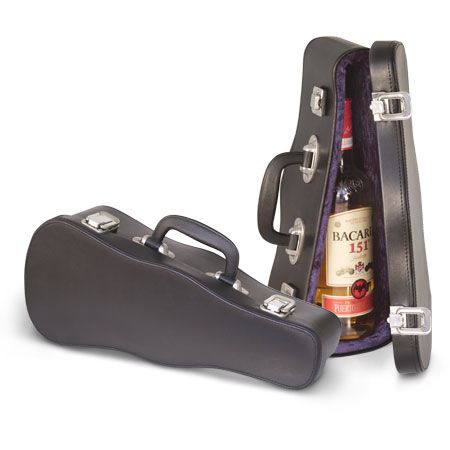 Violin Case Bottle Holder Music Is The Food Of Life In