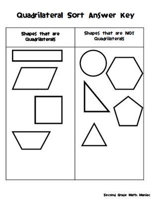 50 best math geometry quadrilaterals images on pinterest. Black Bedroom Furniture Sets. Home Design Ideas