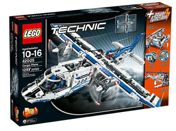 ToyzMag.com » Coup de coeur LEGO : l'avion Cargo LEGO Technic