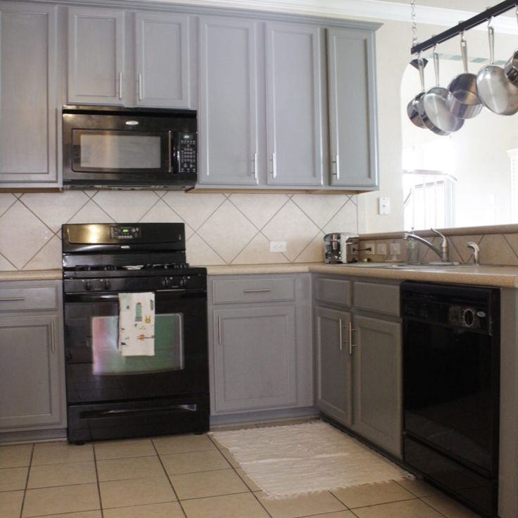 Kitchen Cabinet Colors With Black Appliances: Best 25+ Kitchen Black Appliances Ideas On Pinterest