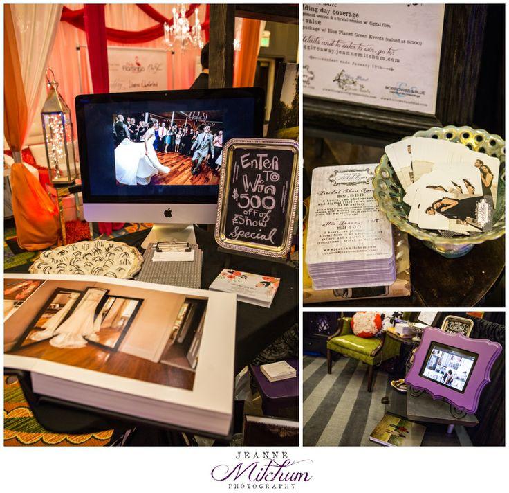 Charleston Bridal show | Charleton Wedding photographer | Bridal show | Bridal show booth | Wedding show | Photographer booth