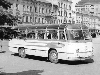 """ЛАЗ 695 """"Львов"""" Опытный '1957"""