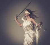 Femida, Goddess Of Justice - Download From Over 64 Million High Quality Stock Photos, Images, Vectors. Sign up for FREE today. Image: 39121319