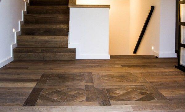 Soluciones globales con nuestra marca #Vetaparket. Recubrimiento de escaleras y losetas. Los dibujos añaden un plus en la decoración.