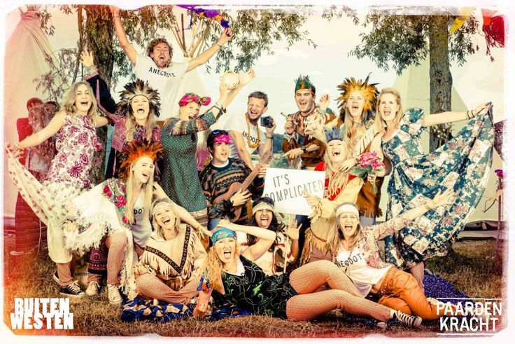 Hippie Family PhotoBooth by PaardenKracht