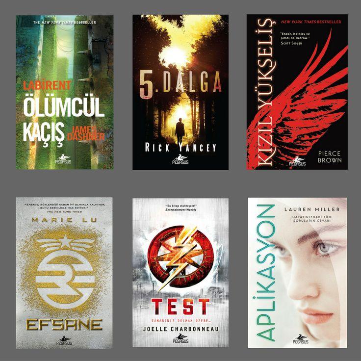 Editörün seçiminden baş döndürücü distopik romanlar...  Siz hangilerini okudunuz? #pegasusyayınları