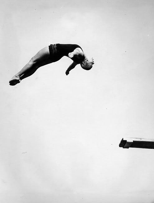 Georgia Coleman: OLYMPIC GAMES: 1928 silver (platform), bronze (springboard); 1932 gold (springboard), silver (platform); first woman to do a 2½ somersault in competition; U.S. NATIONAL Diving Titles: 1929 through 1933 won all but one title.    Georgia had been diving six months when she made the1928 Olympic team and placed both on springboard and Tower.  Considered the first to combine the men's acrobatic strength with the women's grace and beauty.  It all adds up to skill and Georgia had…