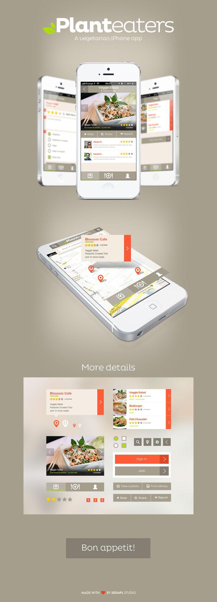 Planteaters | Seempl Studio #web #design #presentation #mobile #UI