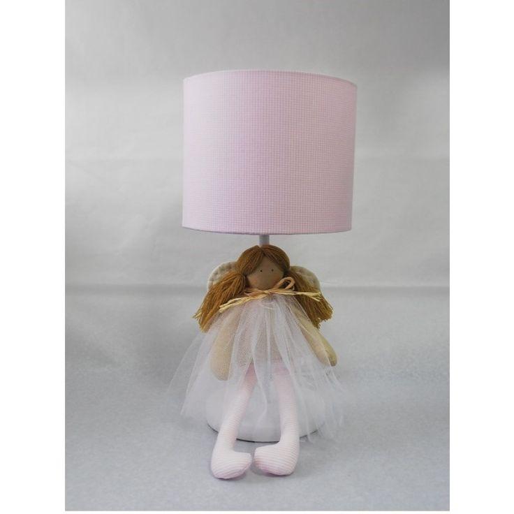 Lámpara Hada rosada. Encuéntralo en www.conejodetrapo.cl.