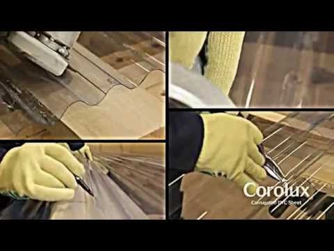 How to install Ariel Corolux PVC roofing sheets