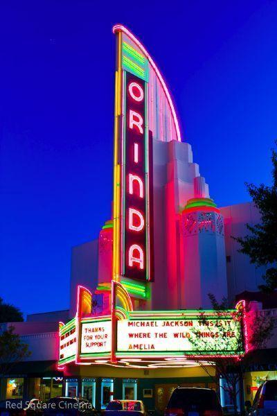 Art Deco Movie Theater