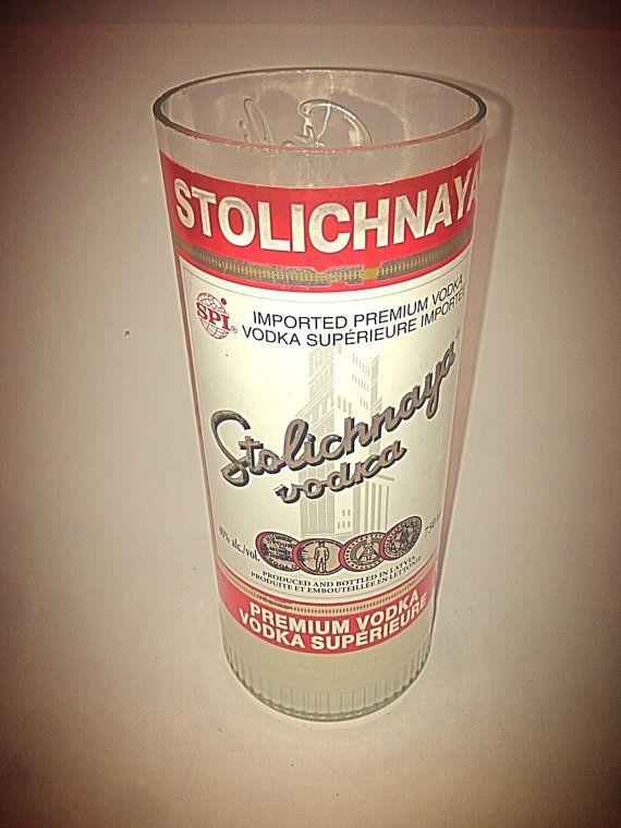 Stolichanya Soy Wax Vanilla Scented Candle by AdamsBottleShop