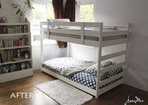best 25 ikea bunk bed hack ideas on pinterest kura bed hack ikea loft bed hack and kura bed