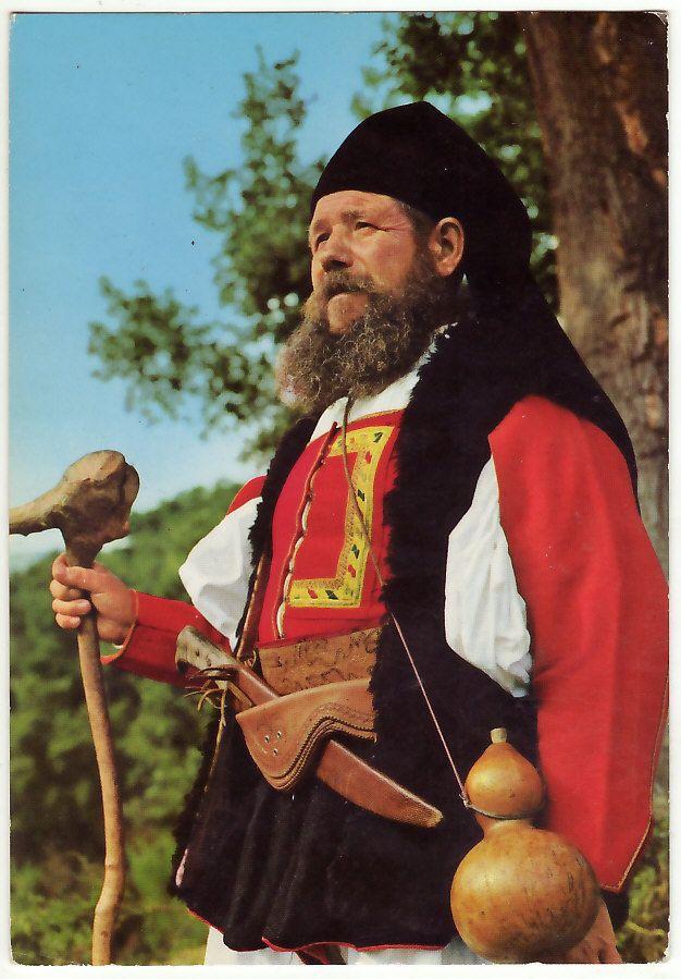 Sardinia. Uomo di DESULO