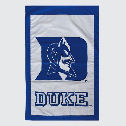 Applique House Flag Duke University By Evergreen