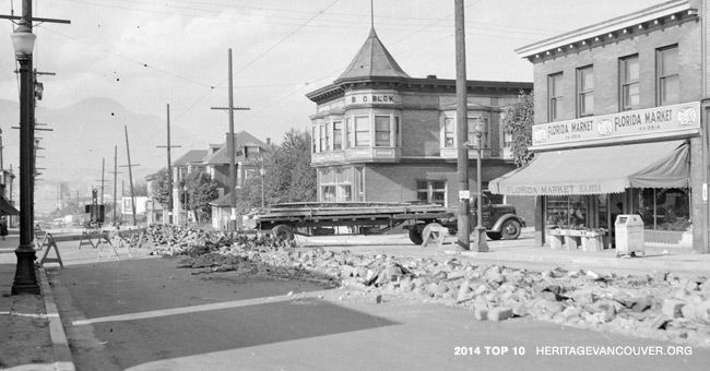 Heritage Vancouver Top 10 Endangered Sites 2015 | No. 10: Commercial Drive – Grandview's main street