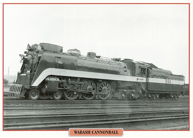 Wabash Cannonball by twm1340, via Flickr: Railroad Transportation, Flickr, Wabash Cannonball, Walbash Cannonball, Twm1340, Trains