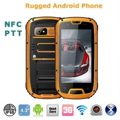 Awesome Rugged Android Smart Phone With Walkie Talkie Built In