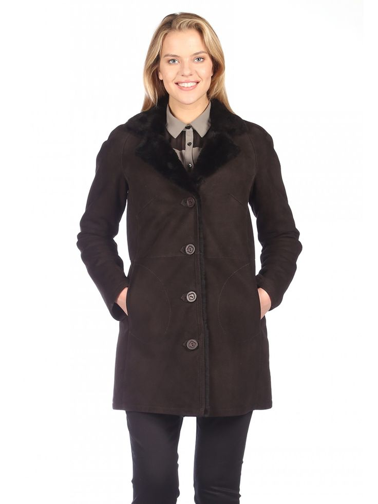 45 best Women's Shearling Coats images on Pinterest | Collars ...