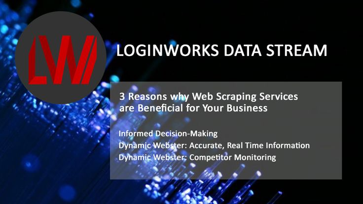 Web scraping, also known as web harvesting or web data extraction, is a process in which data is collected from the web. That unstructured data is then converted into structured information to allow analysis or storage in a centralized database. Web scraping services are not something that every business uses, which is what makes them …