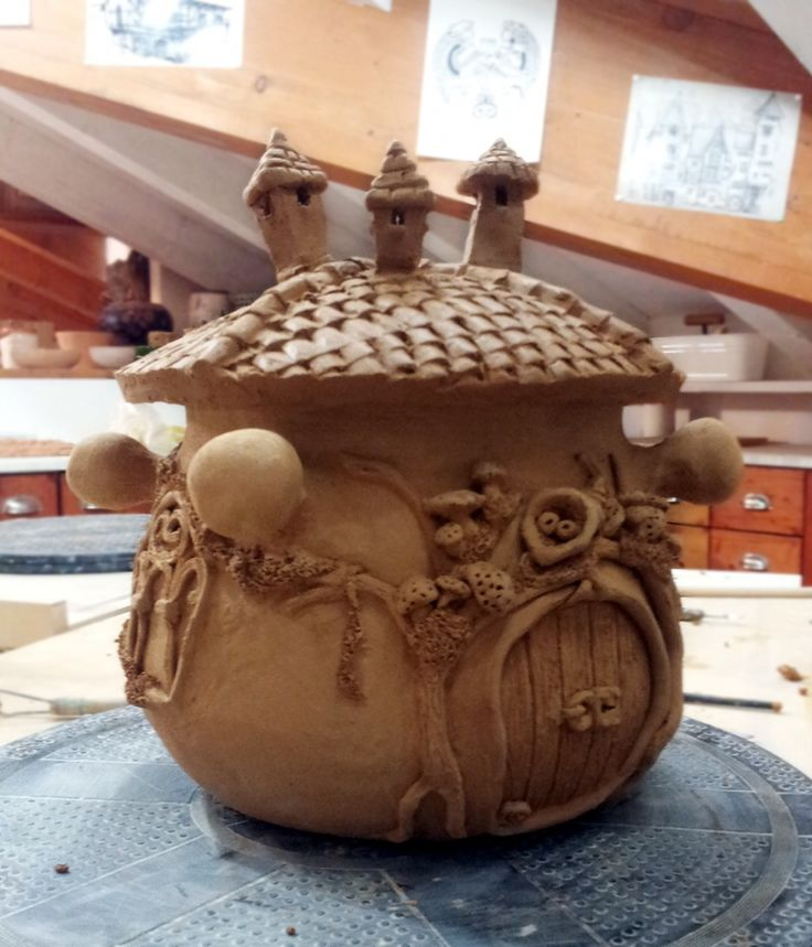 pentola in terracotta by Federica  #ceramica #miaterracotta #corsi