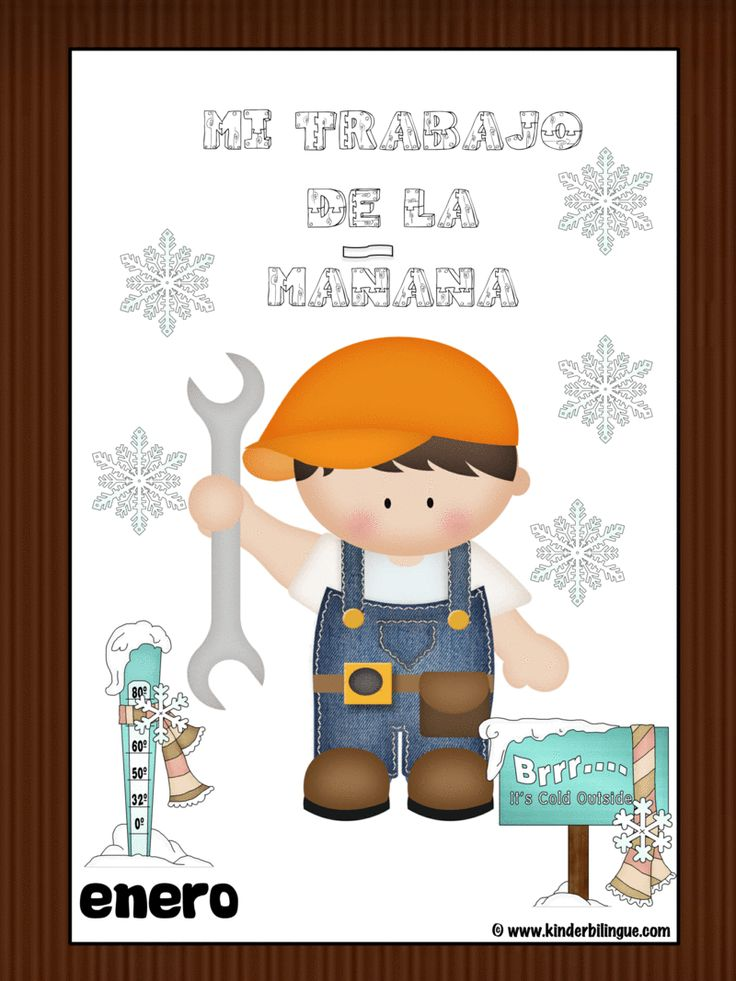 My Morning Work Routine in Spanish (enero)  ||  ¡Mi trabajo de la mañana en Español! Activity description: 1. Twenty five different templates to choose from, you have the option of creating your own weeks to  https://www.kinderbilingue.com/products/my-morning-work-routine-in-spanish-enero?utm_campaign=crowdfire&utm_content=crowdfire&utm_medium=social&utm_source=pinterest