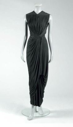 madame gres black dresses - Google Search
