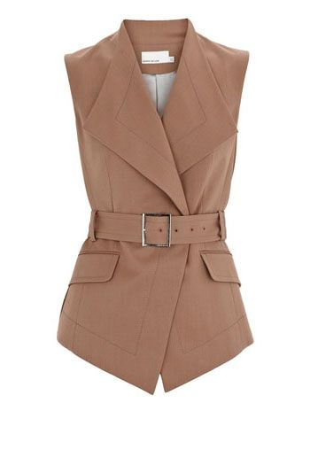 Simple and elegant  Gentish Tailored Waistcoat,If you are interested in it ...  http://www.karenzmillen.com/karen-millen-gentish-tailored-waistcoat-sale-202.html