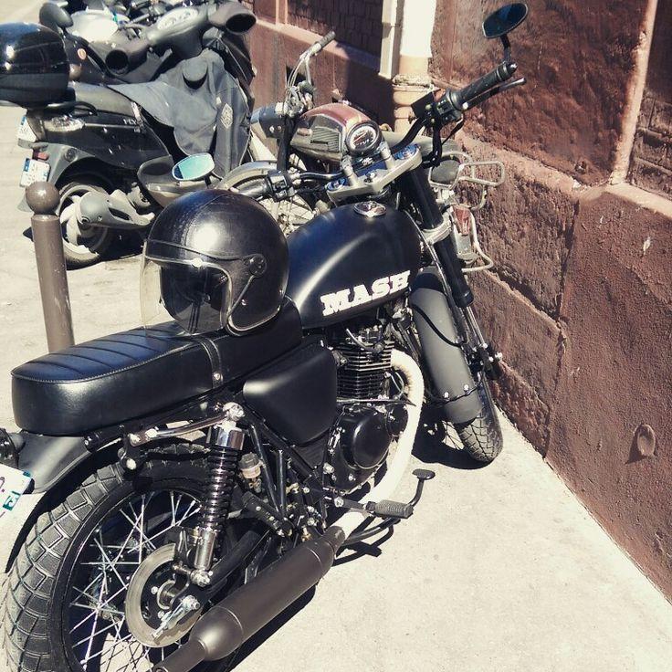 mash seventy five custom mash 125cc custombike caferacer bratstyle motos pinterest. Black Bedroom Furniture Sets. Home Design Ideas