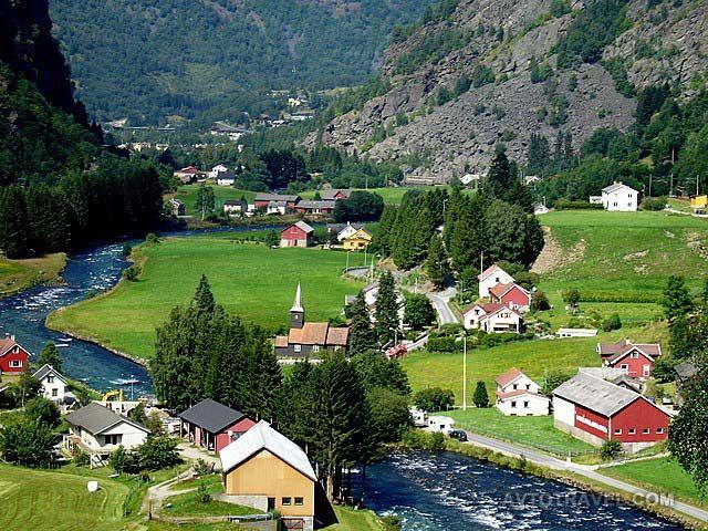 Флом, Норвегия