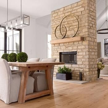 1000 Images About Farmhouse Fireplace On Pinterest