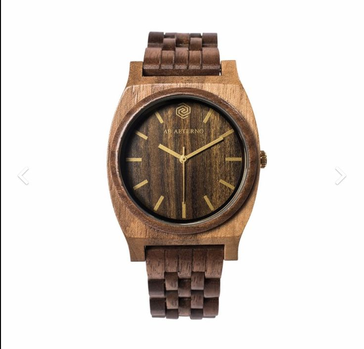 AB Aeterno Watch Unisex In sandal and oak wood. Quartz movement. Available at: Www.bangslove.com