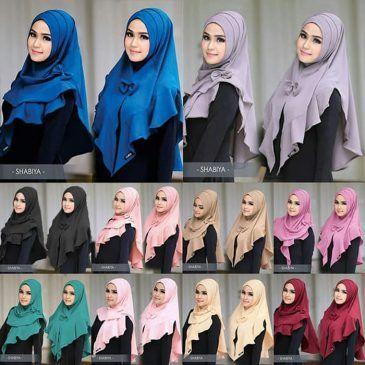 Jilbab instan / Hijab Shabiya Lipit variasi rempel bubble pop,Hijab Shabiya Lipit Hijab instan 2in1, bisa dijadikan mini khimar atau hijab instan. Dilengkapi variasi rempel dan lipit di bagian kepala, cantik dan praktis. FREE bros pita, dengan materialbubble pop, bertekstur kulit jeruk, ringan dan tidak menerawang. Ket : panjang sesuai gambar Bahan : high quality bubble pop, rp,46rb Info dan pemesanan hub kami +6289681170196