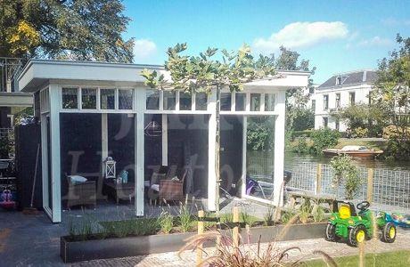 17 best images about houten veranda overkapping on pinterest models we and atelier - Eigentijds tuinmodel ...