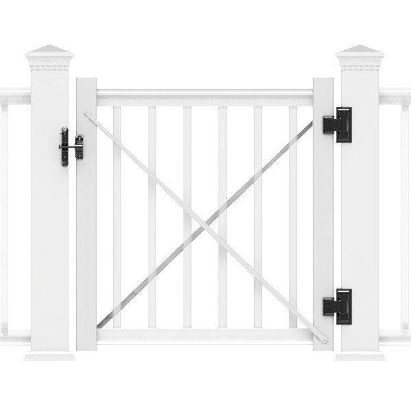 Gate Kit For Transform Railing By Rdi Gate Kit Vinyl Gates Deck Gate