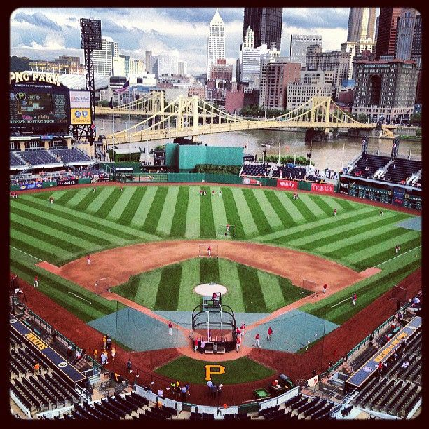 PNC Park Home Of The Pittsburgh Pirates Went To Vs Athletics