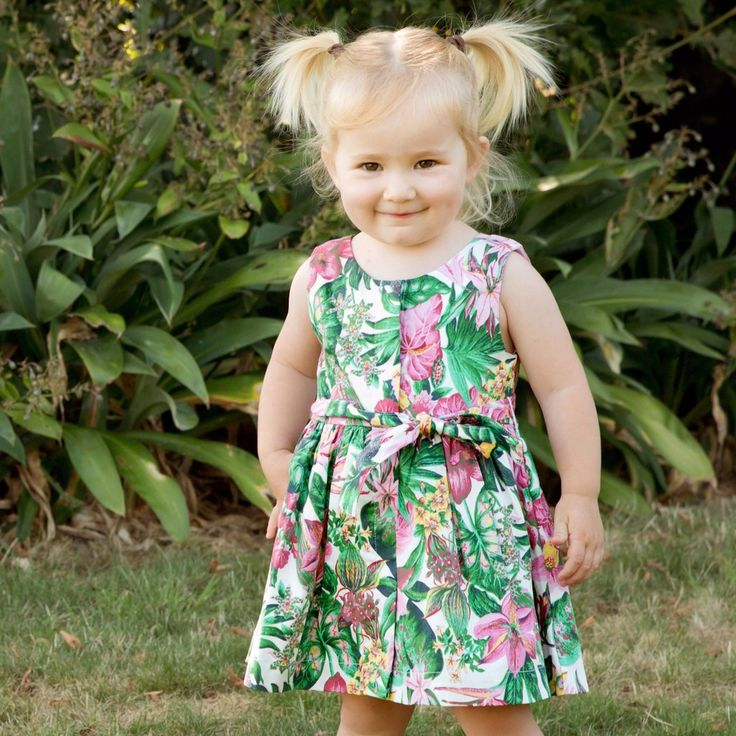 Linzi Rose Hibiscus Dress