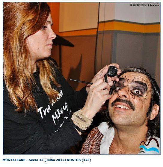 """""""Homens da luta""""  Makeup by Sara Marcus"""
