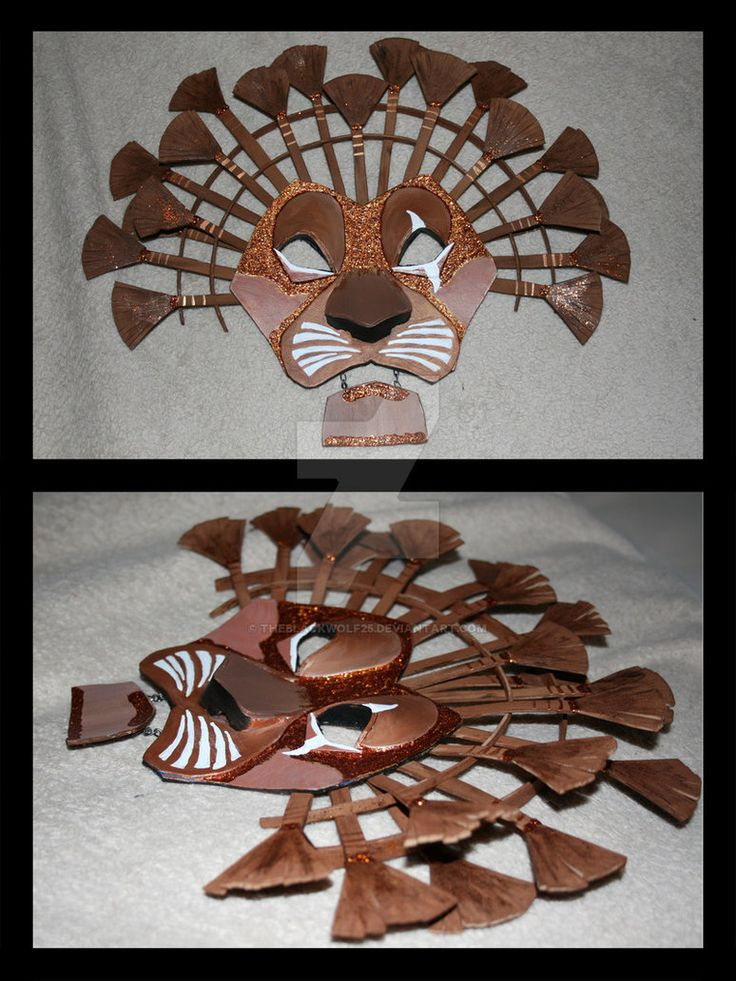 Lion Mask Attempt 1 by Theblackwolf25