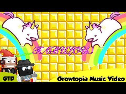 [VOTW] Growtopia Music Video: Fabulous [PewDiePie song by Roomie] - YouTube