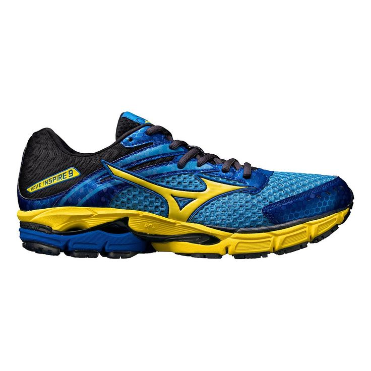 Your favorite stability shoe is back, and its better - and lighter - than ever! Experience the light-as-a-feather mens Mizuno Wave Inspire 9