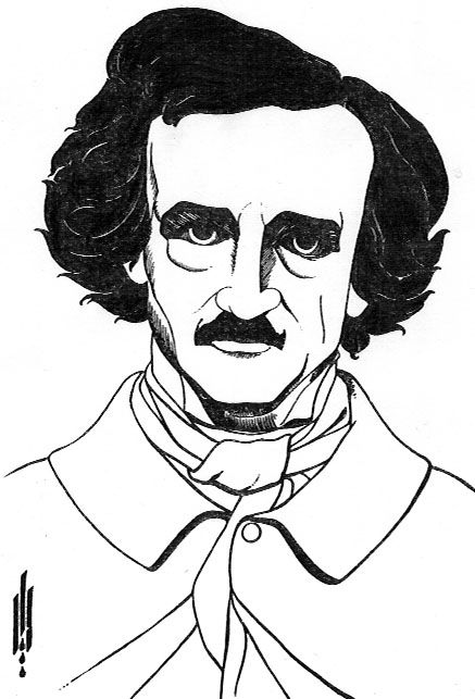 By Edgar Allan Poe by Aubrey Beardsley — Found via Artful for Mac — http://artfulmac.com