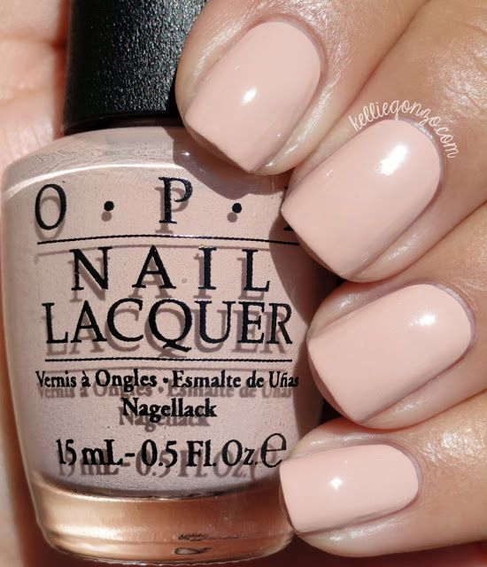 OPI Tiramisu for Two // www.kelliegonzo.com
