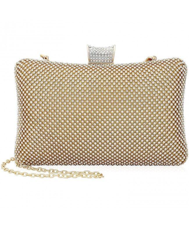 bac6cf276 Rhinestone Crystal Clutch Purse Large Clutches Women Evening Bags for  Wedding Party Silver - Gold - CA187QEDZN8 #Bags #Handbags #ClutchesBags # EveningBags # ...