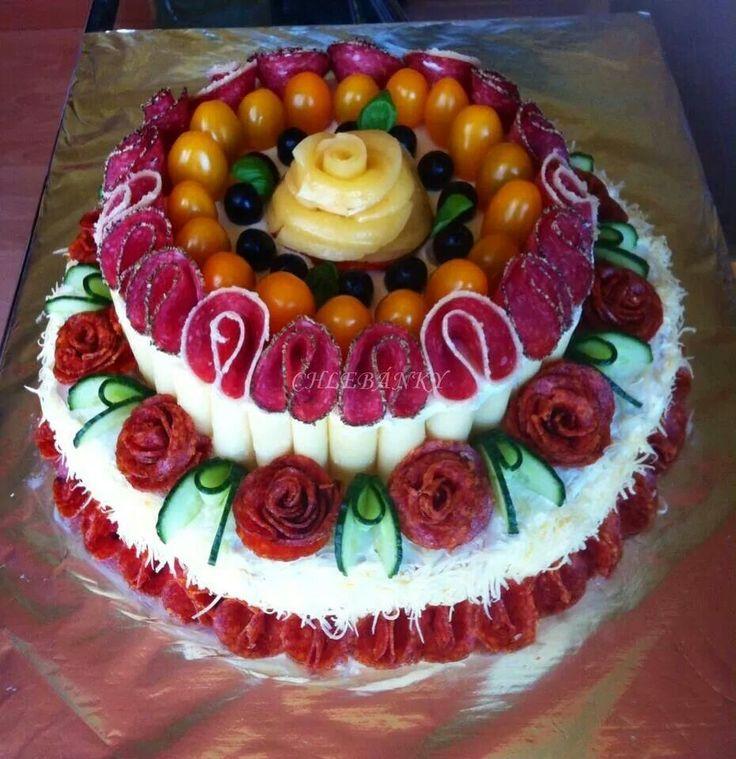 ** Slaný dort **