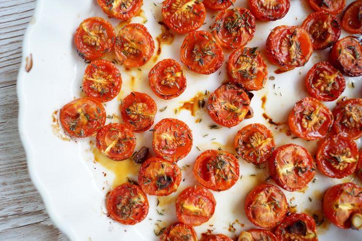 Langtidsbagte tomater.